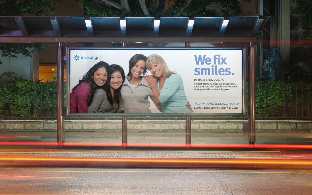 Dr. Bruce Craig Advertising Design